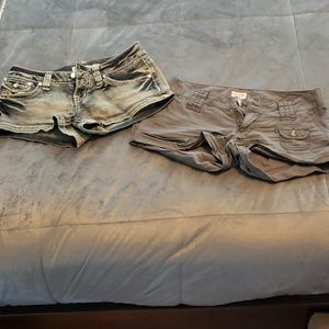 2 Pair of Size 3 Shorts, 1 by Zanadi, 1 by Mossimo